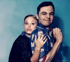 Isn't this the cutest picture Kaley Cuoco (Penny) and Jim Parsons (Sheldon)?!