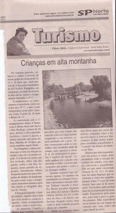 Acampando na Patagonia com Crianças – parte 2 – Publicado em 22 de fevereiro de 2007