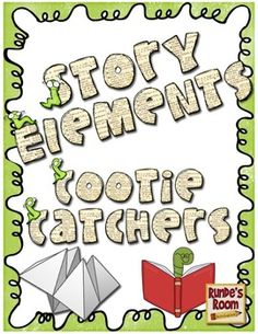 Cootie Catcher Story Elements - 10 different cootie catchers for:  plot, character, setting, conflict, theme, point of view.  Common Core aligned. $