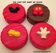 (2) The Cake Pop Shop LLC Oreo Treats, Oreo Cookies, Sugar Cookies, Chocolate Dipped Oreos, Chocolate Covered Strawberries, Mini Cakes, Cupcake Cakes, Oreo Pops, Chocolate Decorations
