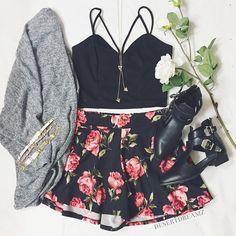 Floral skirts #CharlotteLook