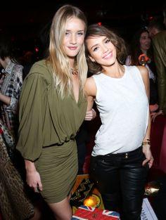 Rosie Huntington-Whiteley et Jessica Alba