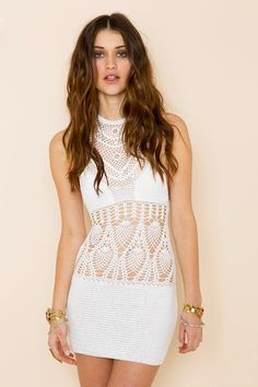 Daybreak Crochet Dress