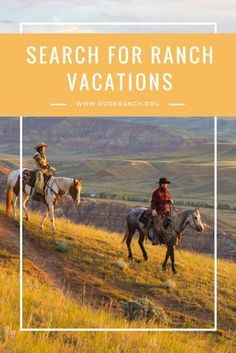 Over 100 of the best Dude Ranches & Guest Ranch vacations. Enjoy the perfect wild west experience, including horseback riding, hiking, fishing & more. Dude Ranch Vacations, All Inclusive Trips, Guest Ranch, Happy Trails, Trail Riding, Horseback Riding, Travel Usa, Travel Tips, Outdoor Travel