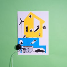 Make an interactive poster with the Touch Board and Electric Paint and add sounds and recordings to your story or presentation! Stencil Cutter, Interactive Poster, Internet Plans, Interactive Presentation, How To Make Stencils, Paint Line, Paint Drying, Played Yourself, Sd Card