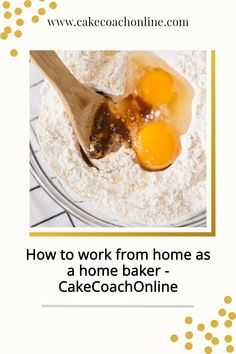 """You have no idea how many times I hear people say """"Oh, I could never work at home. I'd never get anything done!!"""" But 'how to work from home as a home baker' works well if you set up a few ground rules. There are five things to keep in mind when working from home. Read our blog to discover more..."""