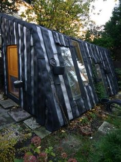 tire house - from inspirationgreen.com