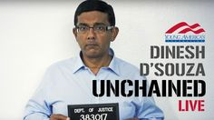 Dinesh D'Souza UNCHAINED at Southern Methodist Streamed live on Nov 9, 2016 Americans decisively chose a new trajectory for our country yesterday, firmly rejecting the progressive gangsterism that has plagued America for decades.
