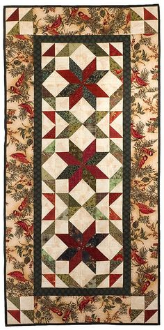 Holiday Stars Tablerunner