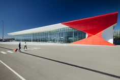UNStudio completes kutaisi international airport in georgia - designboom | architecture