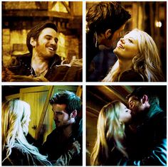 Captain Hook Emma Swan Killian Jones Colin O'Donoghue Jennifer Morrison Once Upon a time If you take place like thanks Miriam Captain Swan, Captain Hook, True Love, My Love, Hook And Emma, I Ship It, Outlaw Queen, Colin O'donoghue, Great Tv Shows