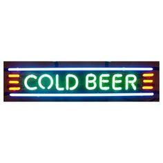 Neonetics Cold Beer Neon Sign