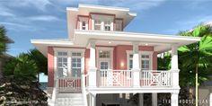 Elevator Beach House Plan. Tyree House Plans.