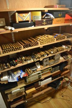 Man Cave - Smoking Room. Every house needs a man cave or a Lady's Lair.
