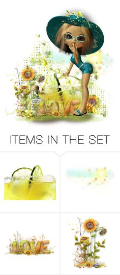 """""""If life gives you limes, make margaritas- Jimmy Buffett"""" by poshtrish ❤ liked on Polyvore featuring art"""