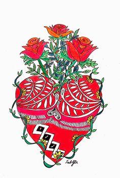 Lieschens-Bilder: Zentangle 190 Weekly Challenge #204 Valentinstag