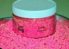 """Love Your.. Romantic """"Crazy Love"""" Mineral Powder.    The name says it all! The Love bomb is the ultimate romantic choice for bath time and setting the mood! With wild berries and wild passion, it's the perfect combination! It's a powerful aphrodisiac that will relax you as it warms your heart, body and soul- a MUST for a romantic bath. With passionate fragrances, silky skin and love in the tub you can fully enjoy your luxurious soak with our best-selling Bath Bomb fragrance in a mineral…"""