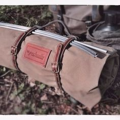 Our Adventurer bedroll is made from a robust, waterproof military-grade canvas… Canoe Camping, Camping Gear, Outdoor Camping, Outdoor Gear, Outdoor Tools, Backpacking Gear, Outdoor Fun, Bushcraft Equipment, Camping Equipment