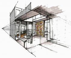 fabriciomora:    interior sketch