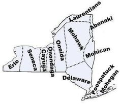 These are the original inhabitants of the area that is New York. There are eight federally recognized Indian tribes in New York today: Cayuga Nation of Indians, Seneca Nation, Oneida Indian Nation, Tonawanda Band of Senecas, Onondaga Nation, Tuscarora Nation, St. Regis Band of Mohawk Indians, and Shinnecock Indian Nation.