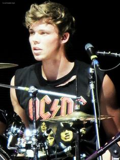 Ashton Irwin-- The drummer for 5 Seconds of Summer :) love him so much!!!!!!