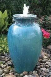 I just learned about this company, and I wanted to pass the information along. I think a small fountain feature still has a place in a wat...