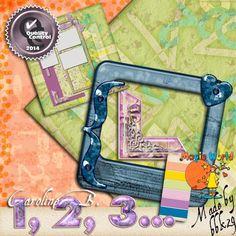 1, 2, 3...       Little mini for urgent page.  Including :  - 2 papers  - 1 jewel word art  - 4 precious photo corners  - 1 fancy slide  - 1 paintchip  - 1 QP.    -----    Un mini kit pour les pages urgentes, incluant :  -  2 papiers,  - 1 wordArt bijou  - 4 precieux coins-photos,  - 1 diapo fantaisie,  - 1 échantillon-couleurs  - 1 quickpage.             http://carolineb.fr/index.php?main_page=product_info&products_id=181