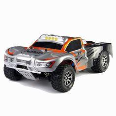 Pulveriza a tus competidores con este RC en cualquier superficie! Increíble tracción de 4 ruedas Más de 50 km/h Cargador incluido