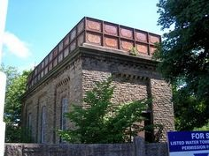 British Water Tower Appreciation Society: Settle Station Water Tower (1876)