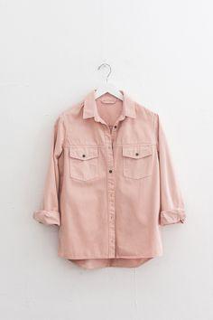 Rose Denim Shirt