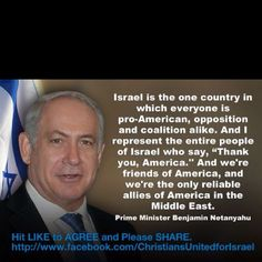 I truly hope America stays friends with Israel - or America will be in trouble, with God