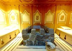 Sauna relaxation at Hotel Lindenhof in Italy http://www.lindenhof.it/belvita-wellnesshotel-sauna.en.htm