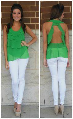 Green my fav color