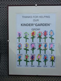 Image result for classroom thumbprint flowers