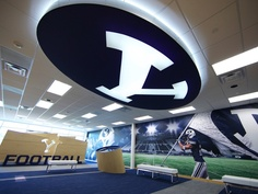 BYU Football Room