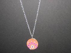 pink hippie necklace