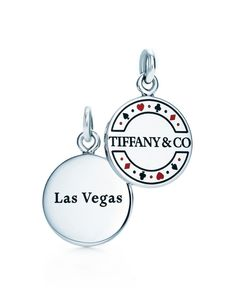 My first charm (fittingly) - Las Vegas Tiffany & Co. Charm -- This would be PERFECT for me. We had our honeymoon in Vegas!