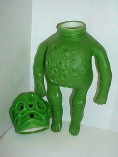 TGB: Vintage Ooze-It steel molds I own.