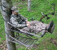 tree stand   ... tree stands feature the comfortable EasyGlide™ adjustable treestand