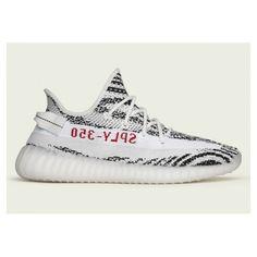 best sneakers 770bd e70ea Adidas Yeezy Boost - Billige Adidas Yeezy Boost 350 V2 Zebra Hvid   Sort  Adidas Løbesko