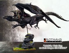 Rothand Studio: Malekith witch king on black dragon conversion + L...