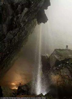 Han Son Doon cave in Vietnam.