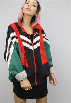 cool jackets, jackets for Nike Tracksuit, Tracksuit Jacket, Windbreaker Jacket, Japan Outfits, Casual Outfits, Cool Jackets, Jackets For Women, Reebok, Streetwear