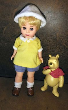 Madame Alexander Christopher Robin And Pooh Doll #Dolls I am selling them on eBay. Mint condition.