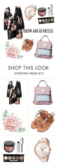 """Trow-and-go dresses - my outfit"" by rebekastar ❤ liked on Polyvore featuring Bobbi Brown Cosmetics and Ted Baker"