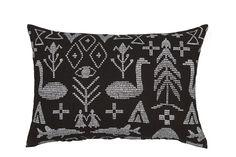 Maailman synty interior pillow // Saana ja Olli