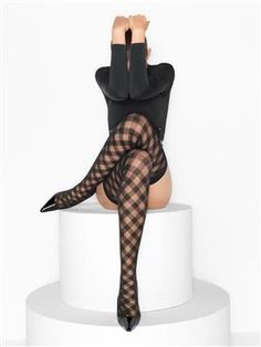 Buy Wolford luxury lingerie - Wolford Kate Stay-Up Silk Stockings, Stockings Legs, Stockings Lingerie, Wolford Stockings, Bas Sexy, Fashion Tights, Steampunk Fashion, Gothic Fashion, Stocking Tights