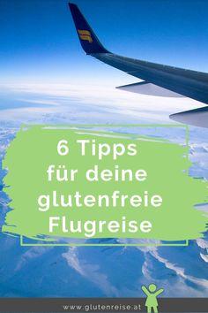 Die nächste Reise steht an? Wunderbar. Damit auch die Anreise im Flugzeug klappt, gebe ich dir 6 Tipps für deine glutenfreie Flugreise. Alle meine Tipps beruhen auf meiner persönlicher Reiseerfahrung mit Zöliakie. Wie immer gilt für uns Zölis: Die richtige Vorbereitung ist entscheidend. --  Reisen mit Zöliakie -- Image Categories, Superfood, Low Carb, Air Travel, Lisbon, Bowties, Travel Advice