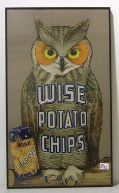 Wise Potato Chip owl