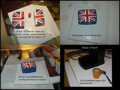 Tuto drapeau anglais - Fimo, Cernit et accessoires : http://www.creactivites.com/236-pate-polymere
